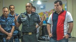 Capitão Barreto enfatizou a importância da integração. (fotos: João Henrique / Maricá Info)