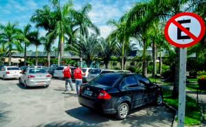 Estacionamento será rotativo no terminal rodoviário. (Foto: Fernando Silva | PMM)