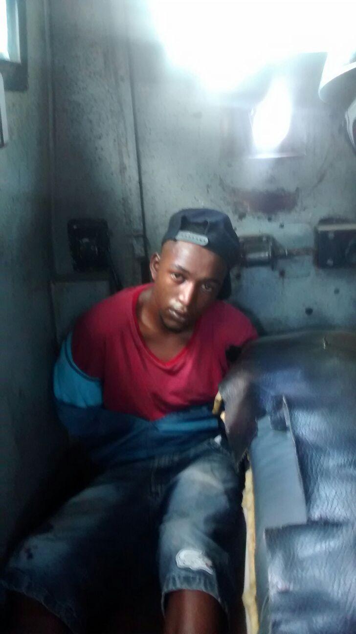 Homem foi preso por tráfico de drogas.