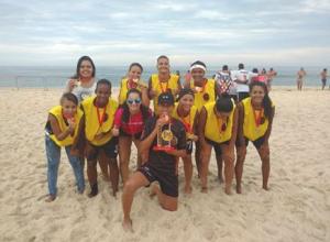 Equipe feminina do Elite foi campeã pela terceira vez. (fotos: Divulgação)