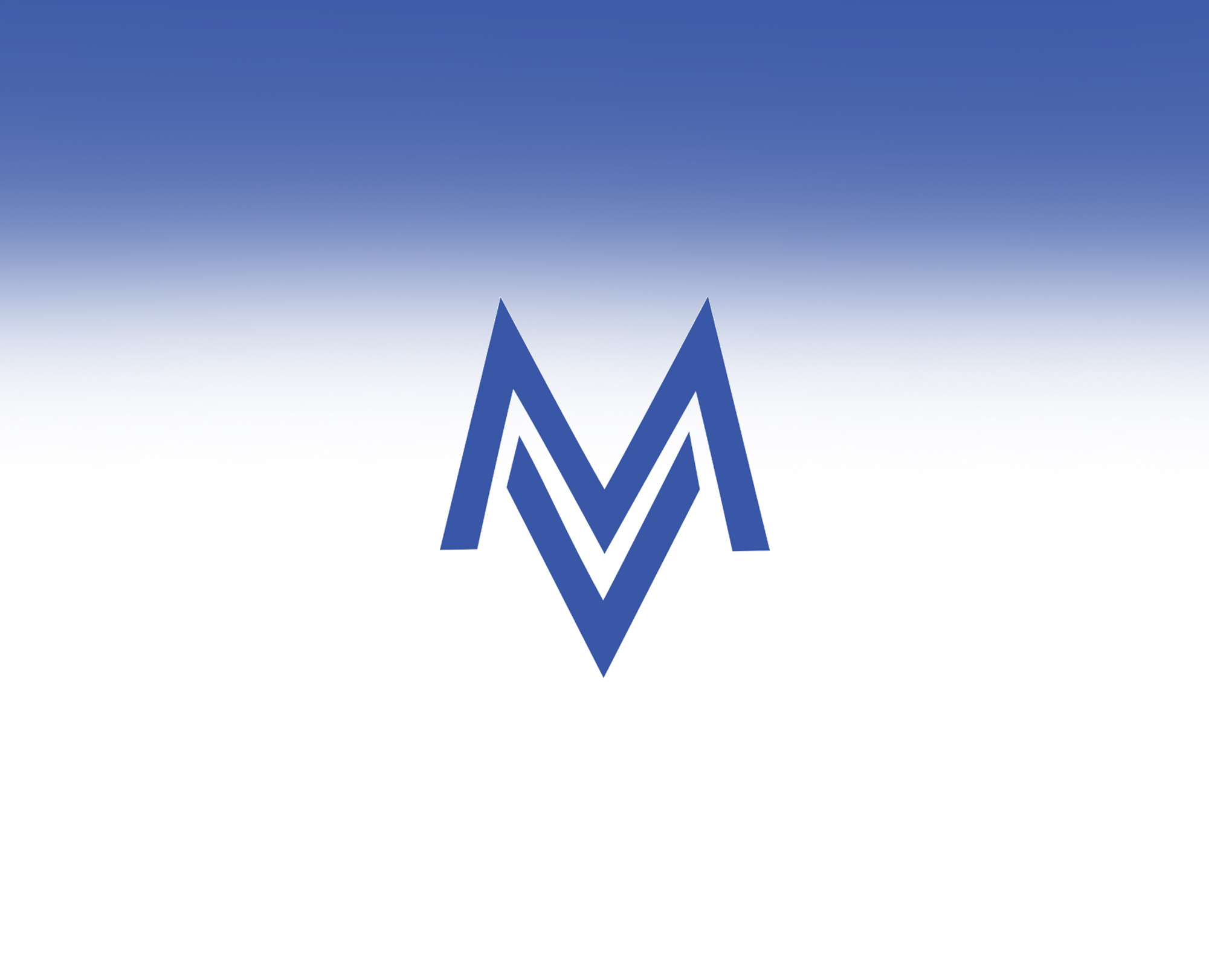 Logo Blue w gradient background