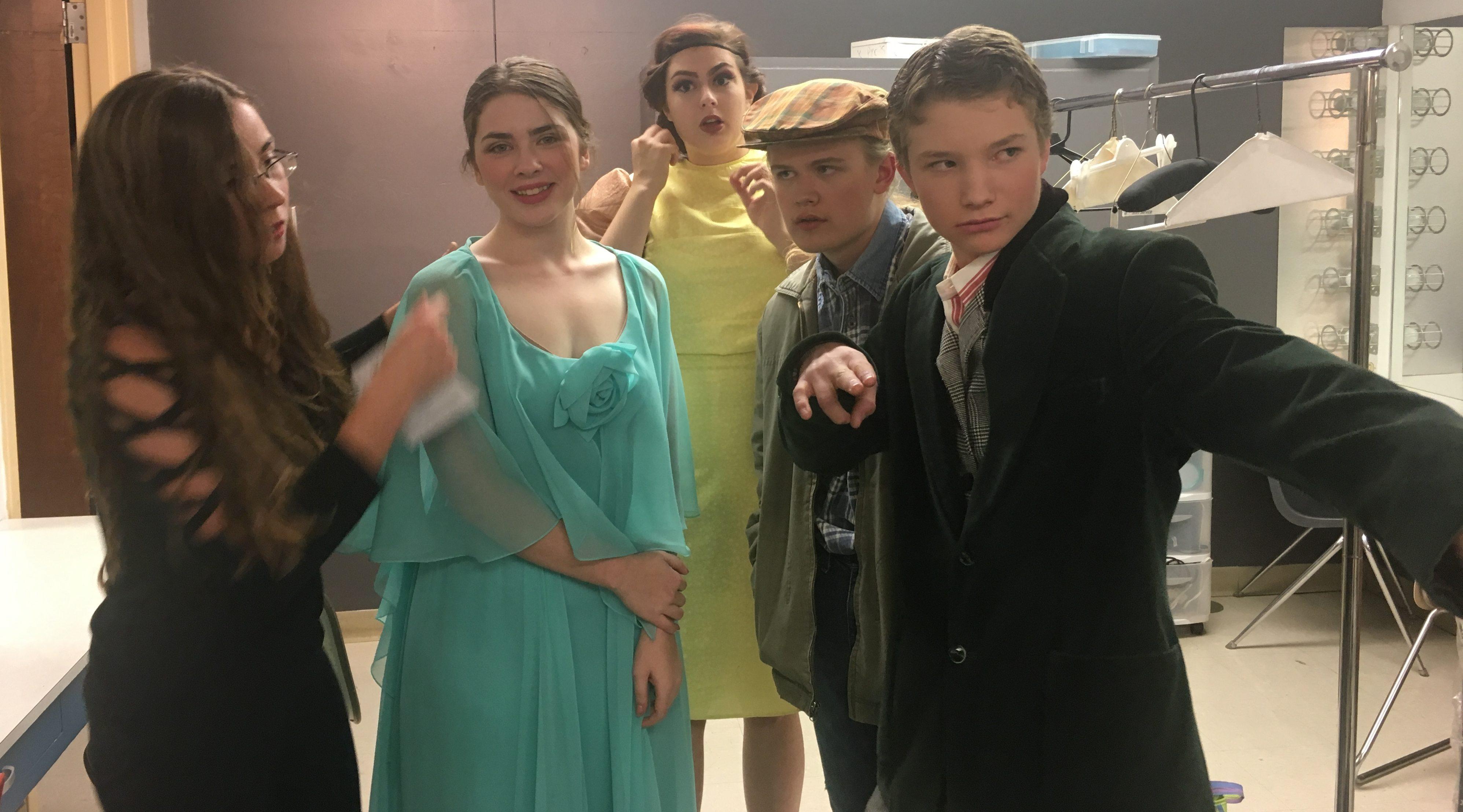Drama Program Backstage