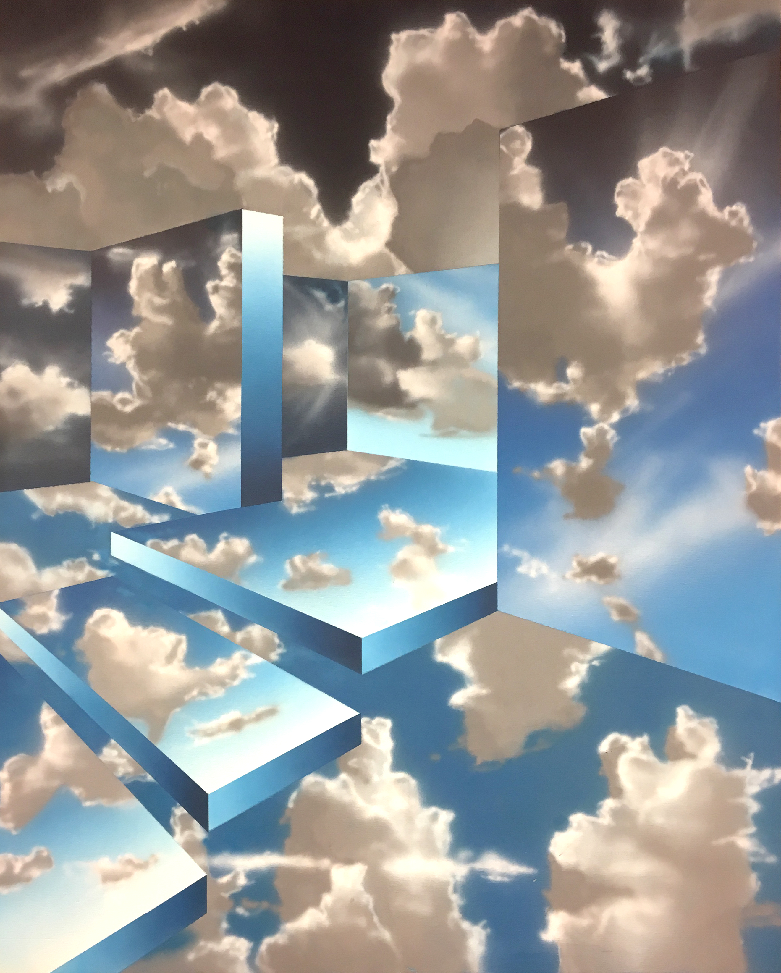 Sky Dimensions Painting