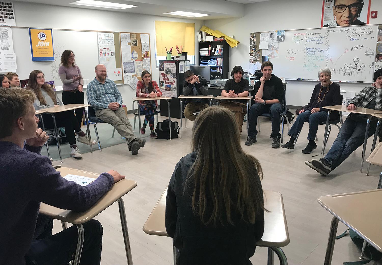 Community Seminar Classroom Session