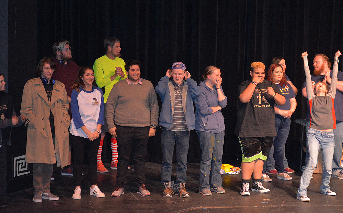 ENMU Drama Fest on stage