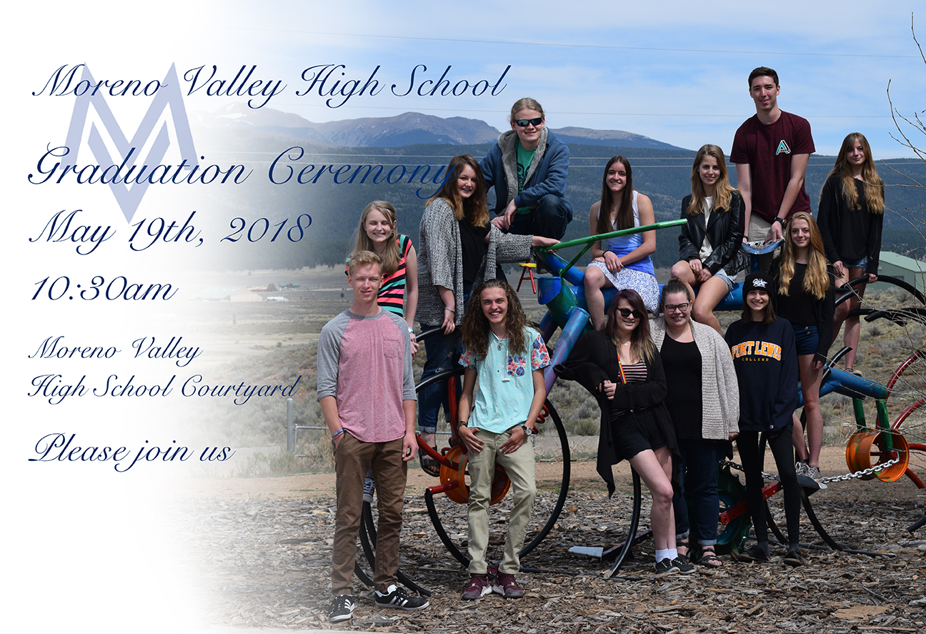 MVHS graduation Announcement