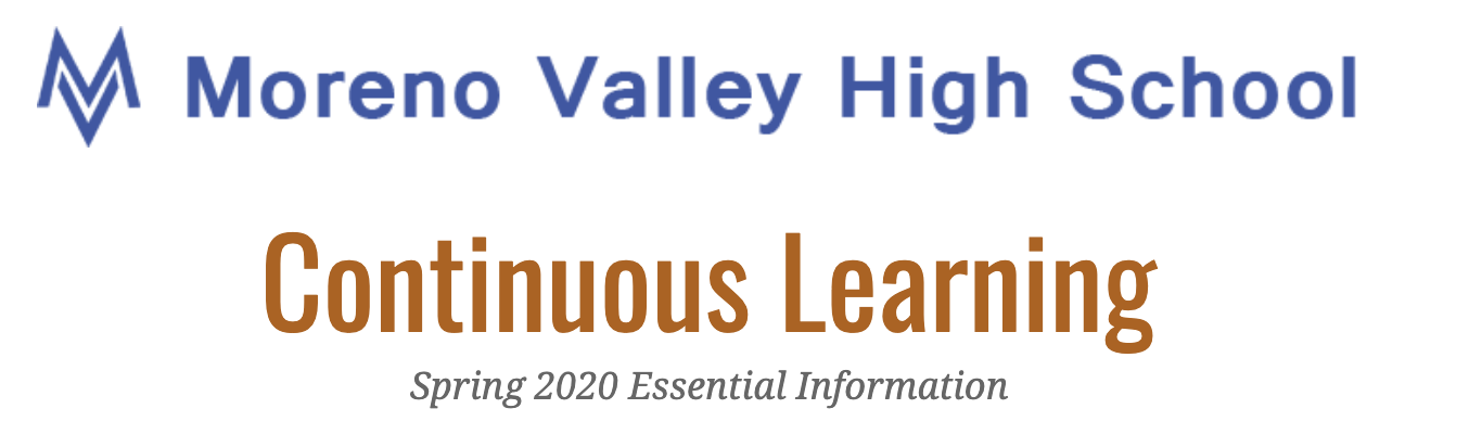 Continuous learning header