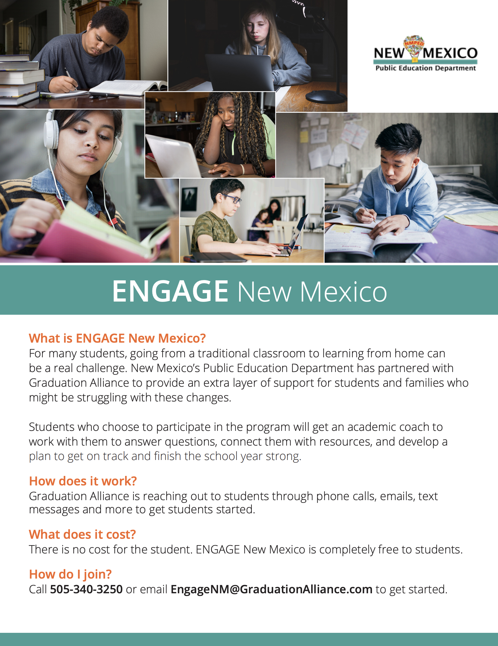 ENGAGE NM flyer