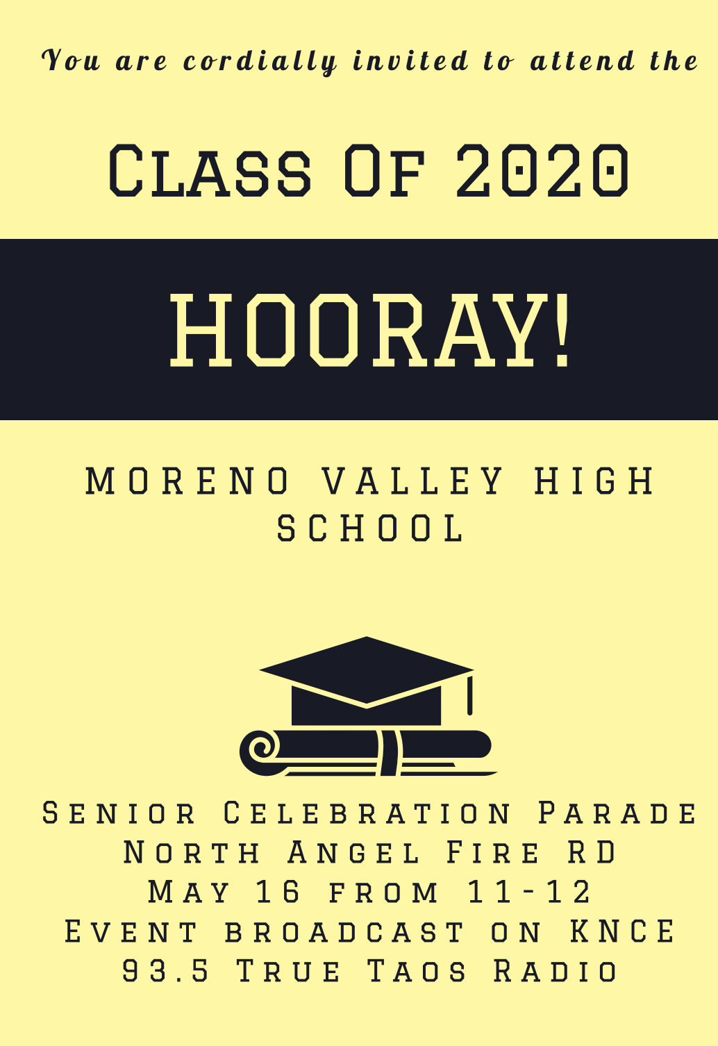 Parade Invite