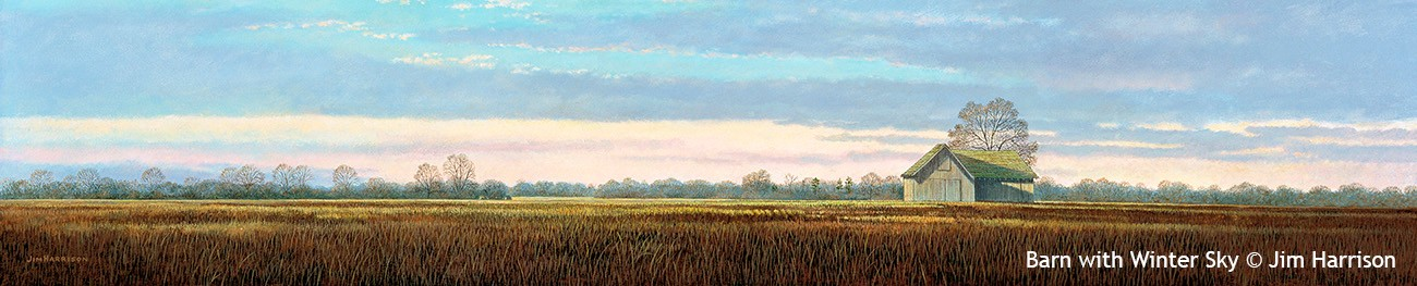 Barn & Winter Sky