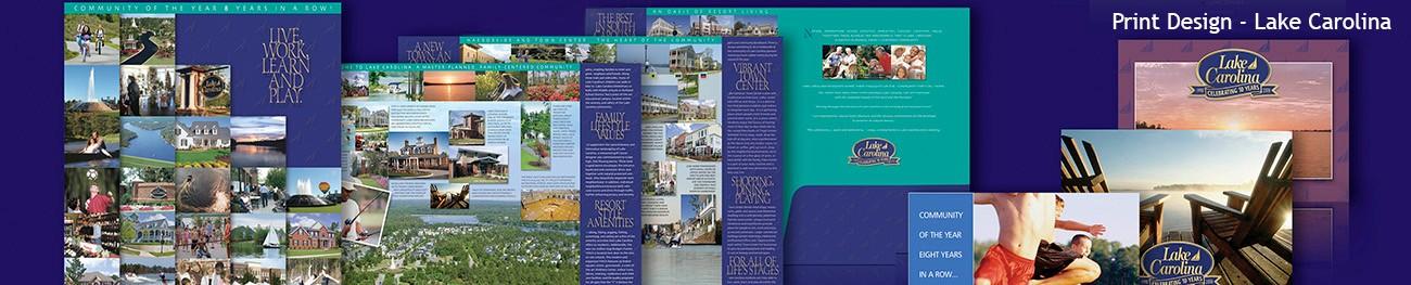Lake Carolina Print