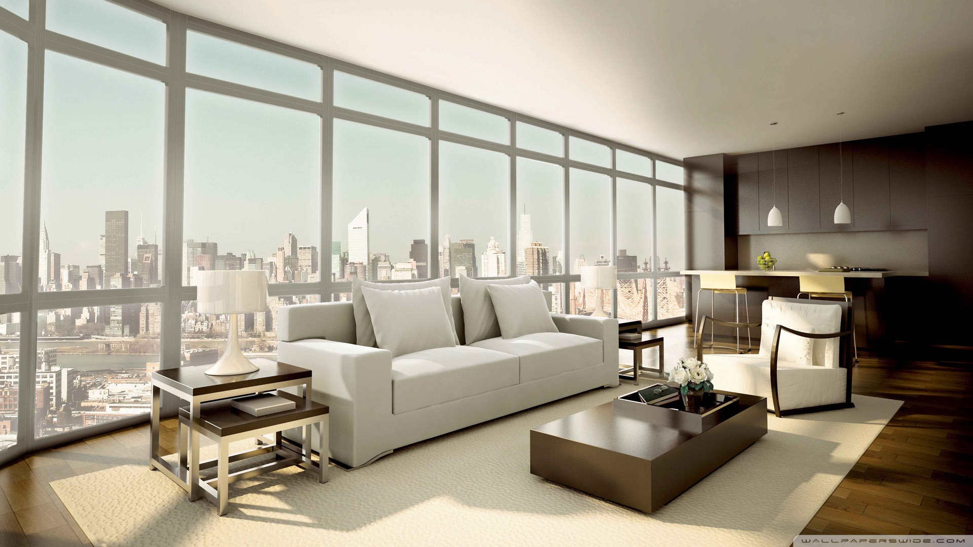 Luminous 3 Bedroom Apartment Flaunting Modern Style