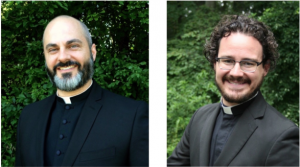 Fr. James Honeycutt of Annunciation Greek Orthodox Church and Fr. Jared Cramer of St. John's