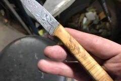 Damascus-pairing-and-Olivewood