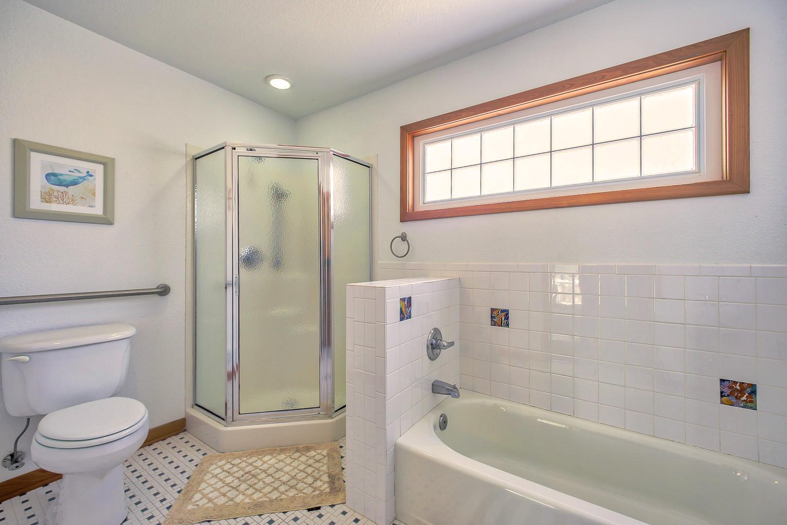 Ground level Master Bedroom #3 private bathroom