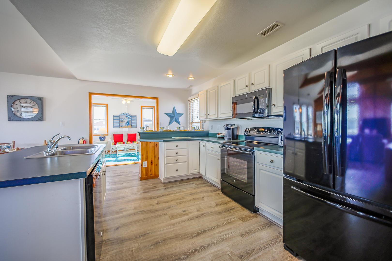 Kitchen with adjacent Sun Room