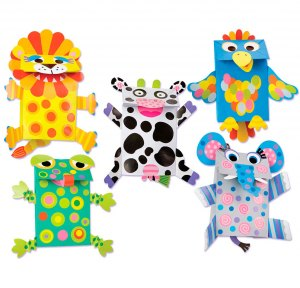 Paper Bag Puppets craft project