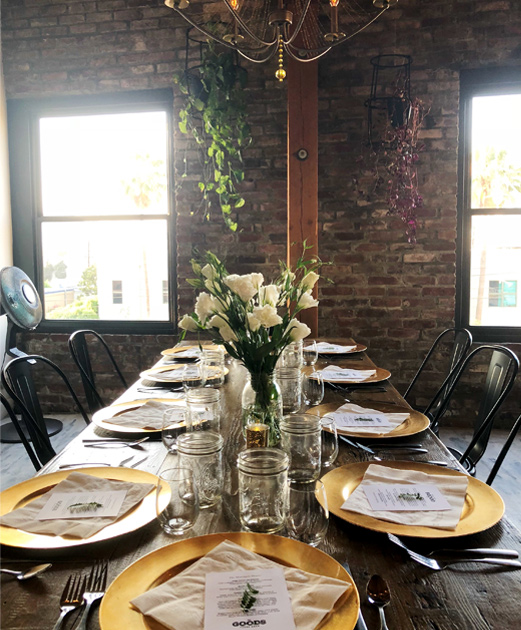 Catering events in LA