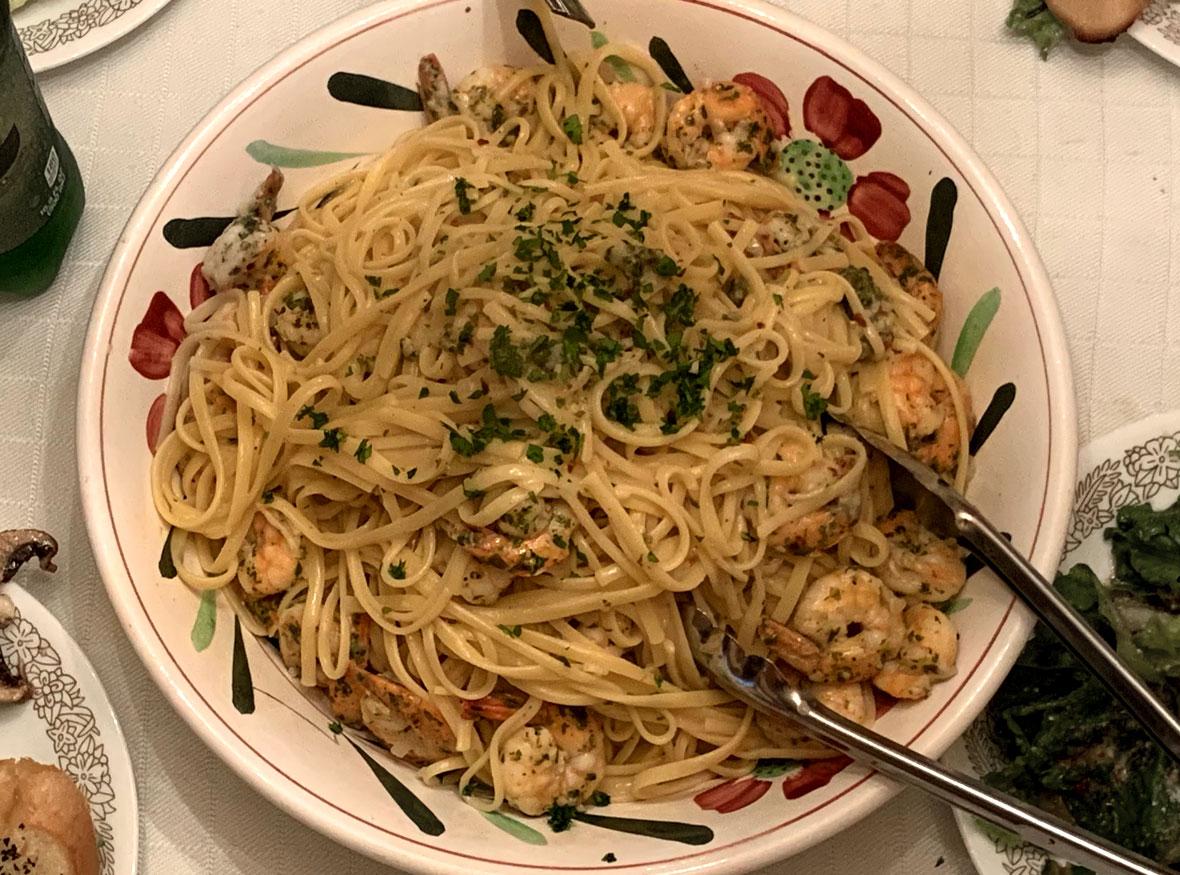 Shrimp Scampi with Linguini recipe