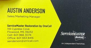 Service Master Restoration Austin Anderson