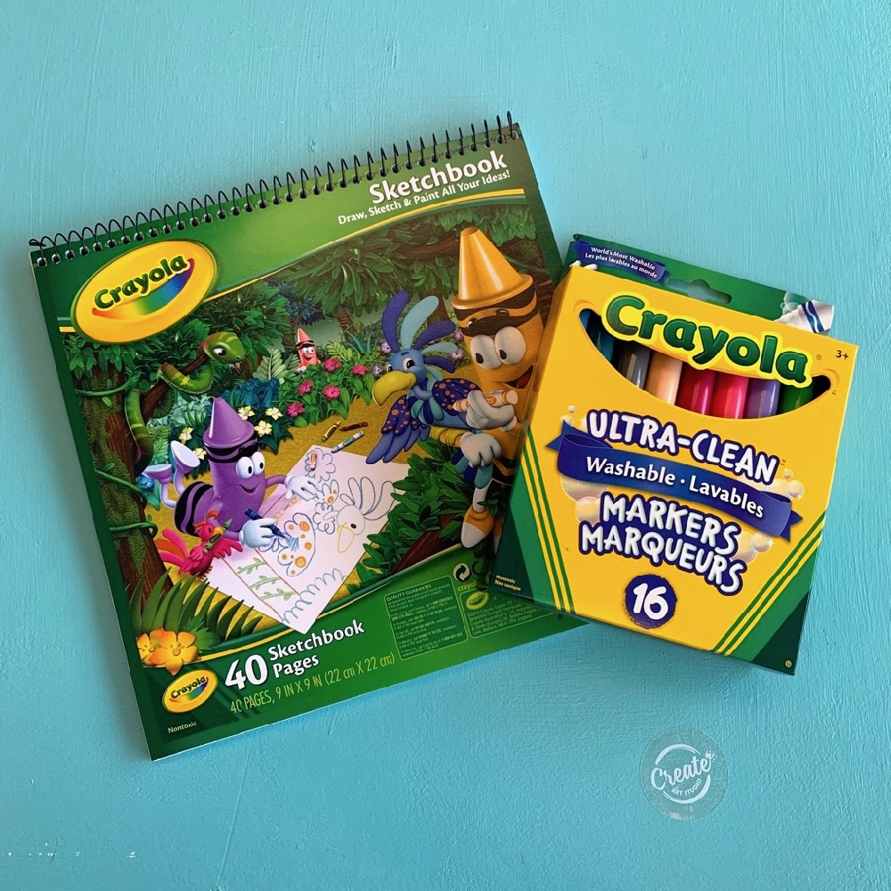 Crayola Colouring Kit