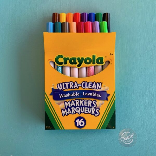 Crayola Washable Markers 16 Broadline Pack