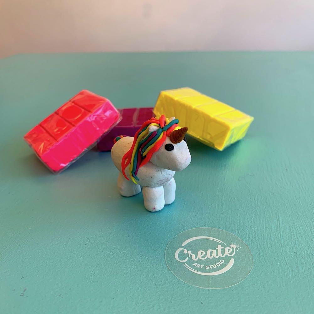 Create Art Studio Art Kit at home unicorn art