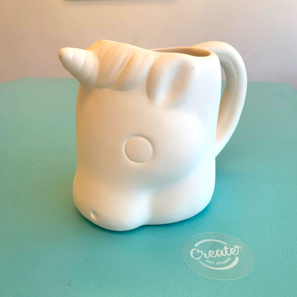 Create Art Studio Ceramics Painting Unicorn Mug