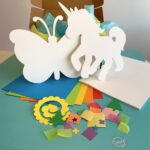Create Art Studio Paper Craft Art Kit for Kids