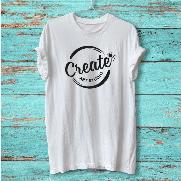 Create Art Studio Online Virtual Birthday Party tshirt decorating for tweens and teens