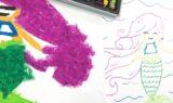 Create Art Studio Colour Copy Free download tutorial oil pastel art project for kids