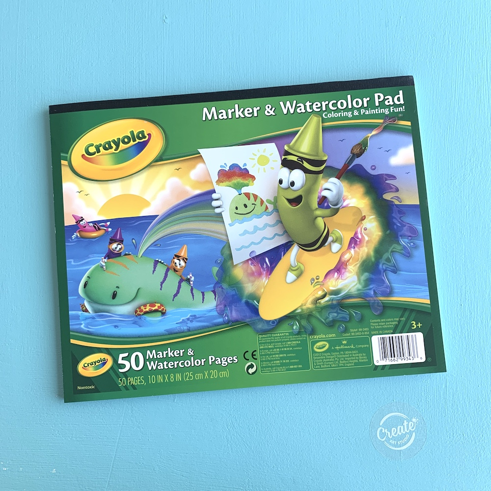 Create Art Studio Crayola Marker Paper Pad 50 pages