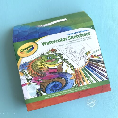 Create Art Studio Crayola Watercolour Sketch Activity Pack