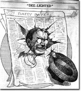 Teddy Roosevelt was fed up with the two-party system