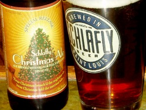 Schlafly Christmas Ale.