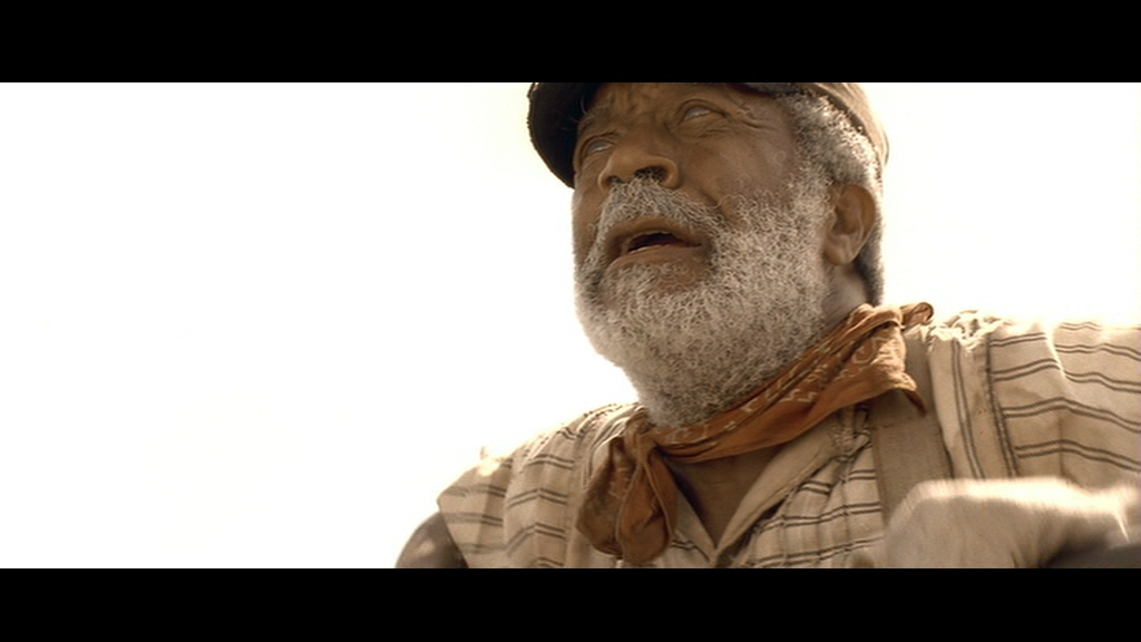 "Blind railroad man in ""O Brother Where Art Thou?"""