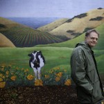 Richard Heinberg and Cow.