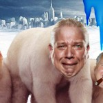Back, Hannity and Limbaugh as polar bears