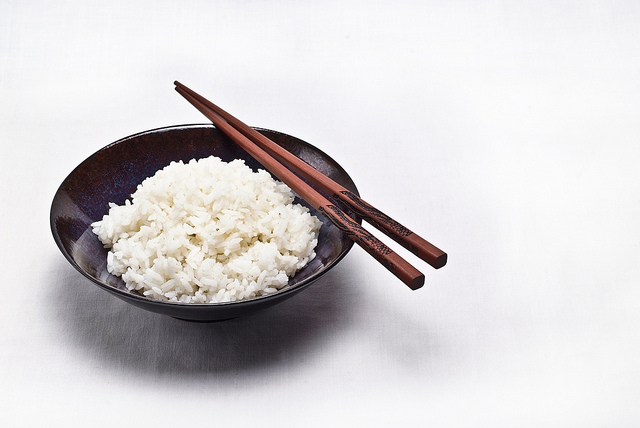 Bowl of rice.