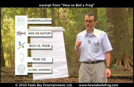 """Screenshot from """"How to Boil a Frog"""""""