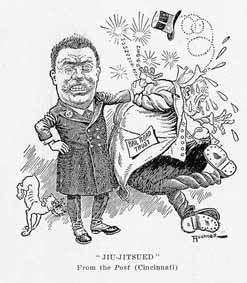 Teddy Roosevelt cartoon