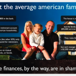 Average American Family Infographic