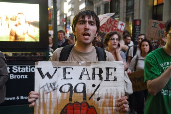 We are the 99 % poster