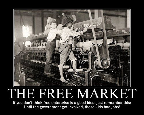 Free market child labor