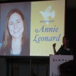 Annie Leonard speaking