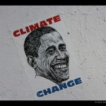 Obama climate change poster