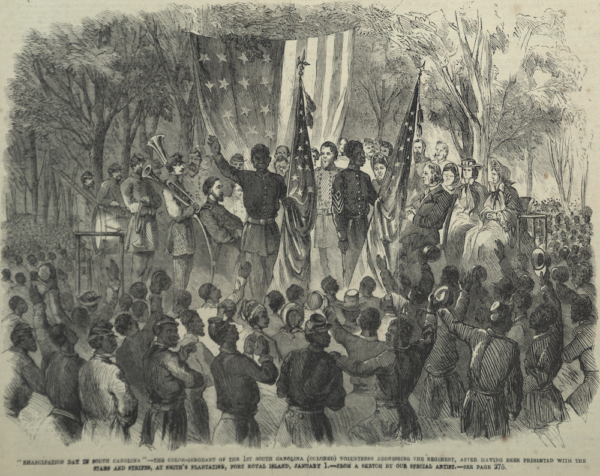 South Carolina Emancipation Day 1863
