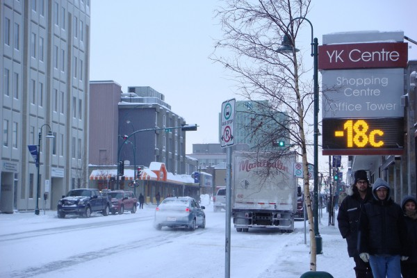 Yellowknife street