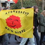 anti nuke protest in Germany