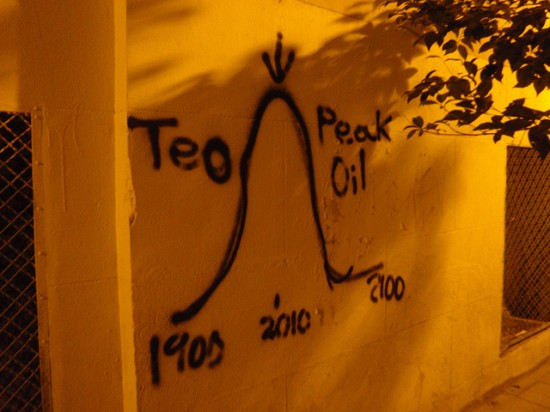peak oil graffitto